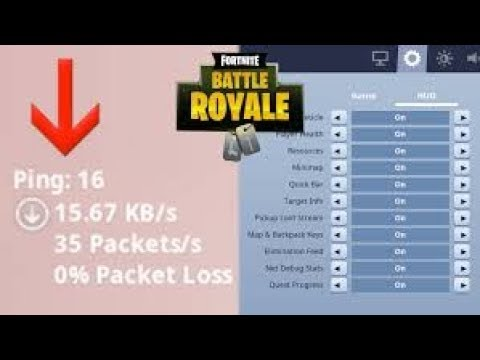 How To See Your Ping On Fortnite Battle Royale