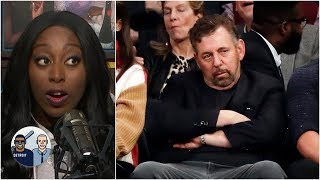 Was James Dolan looking for a fight with Knicks fan? | Jalen & Jacoby