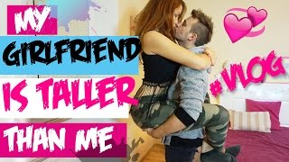 Girlfriend taller than boyfriend, new couple channel with couple vlogs | Couple Vlog #2