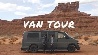 Van Tour | Vanlife Couple Traveling America in a Van