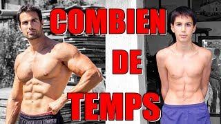 COMBIEN DE TEMPS POUR SE TRANSFORMER en musculation ? - Rudy Coia