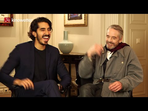 Interview Dev Patel & Jeremy Irons THE MAN WHO KNEW INFINITY