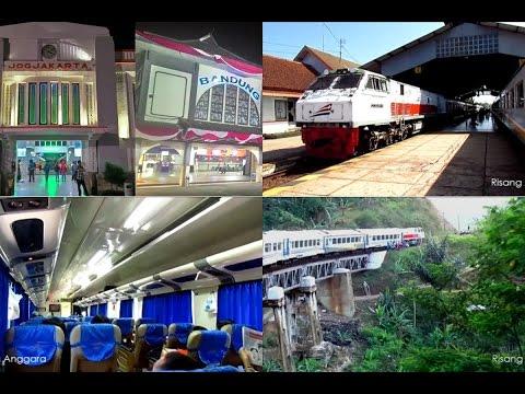 Riding Train from Jogja to Bandung - Perjalanan Naik Kereta Api Eksekutif Argo Wilis