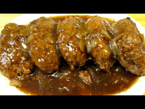 Salisbury Steak Recipe - How To Make Classic Salisbury Steak and Gravy