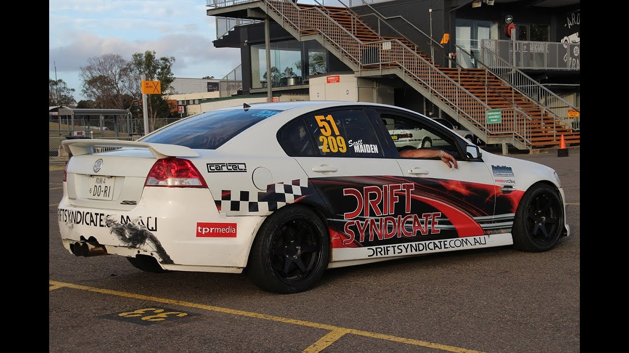 Supercharged Holden Ve Drift Car Adgp Sydney Youtube