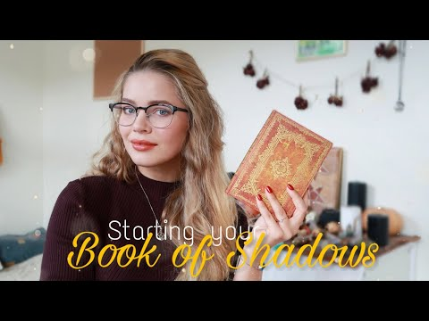 Starting Your Book Of Shadows || WICCA 101