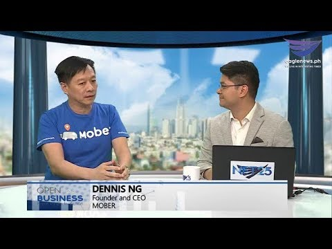 Open for Business with guest Dennis Ng, CEO & Founder of MOBER (January 26, 2019)