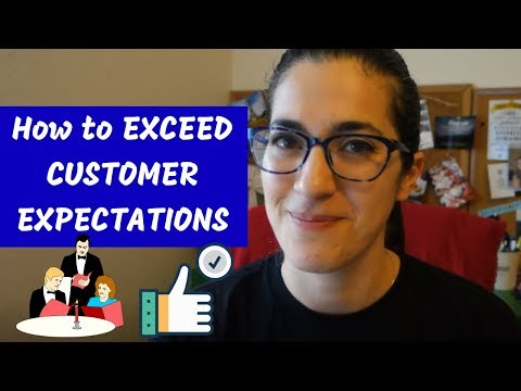 HOW TO EXCEED CUSTOMER EXPECTATIONS   3 tips to get more restaurant 5 star reviews