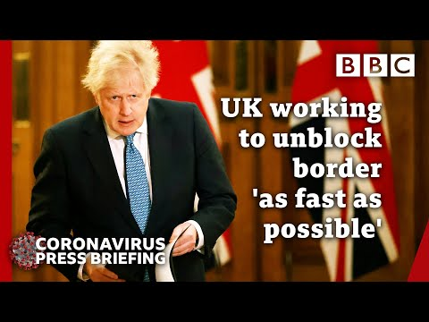 Boris Johnson briefing after over 40 countries ban UK arrivals 🔴 Covid @BBC News live - BBC