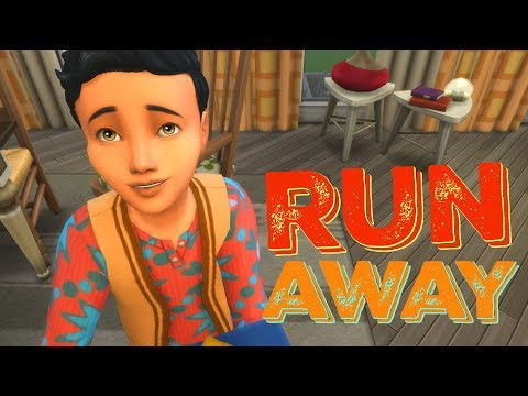 FAMILY EGG HUNT AND SEASONS GIVEAWAY - The Sims 4 Runaway Teen Challenge | Episode 16 thumbnail