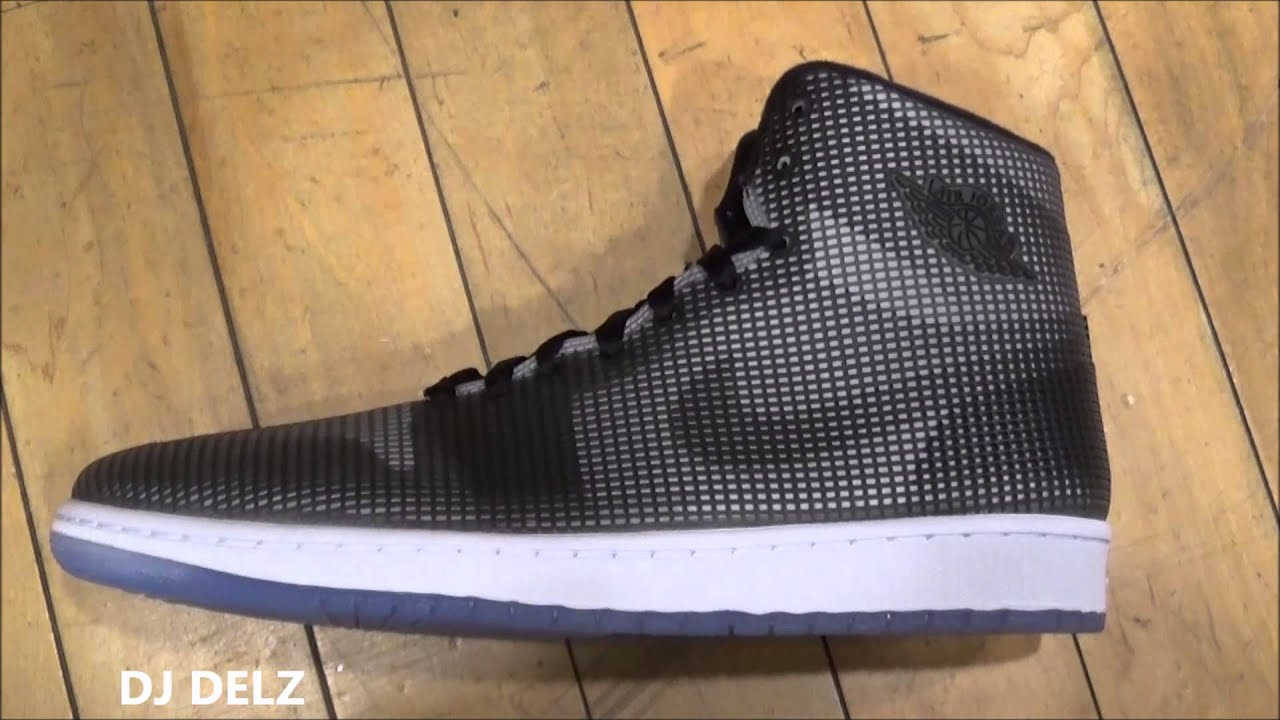 buy online 547ab 019e5 Air Jordan 4Lab1 Black/Reflective Silver Sneaker Review With @DjDelz  #HotOrNot