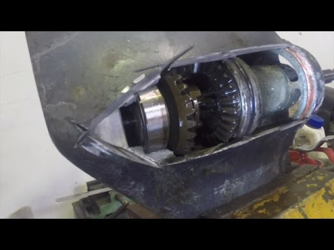 How an outboard gearbox works
