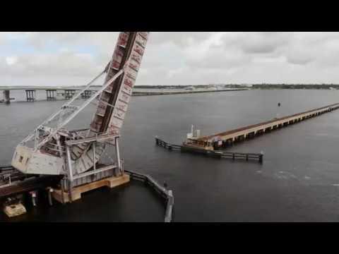 Bradenton Florida Manatee River  (4K DRONE FOOTAGE)