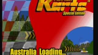 Sega Saturn A - Z - Formula Karts (Gameplay)