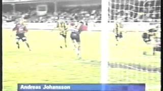 BK Häcken-Djurgårdens IF Allsvenskan 2001- SVT