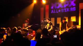 MxPx - Cold Streets live at KGB (Barcelona 2012) HD