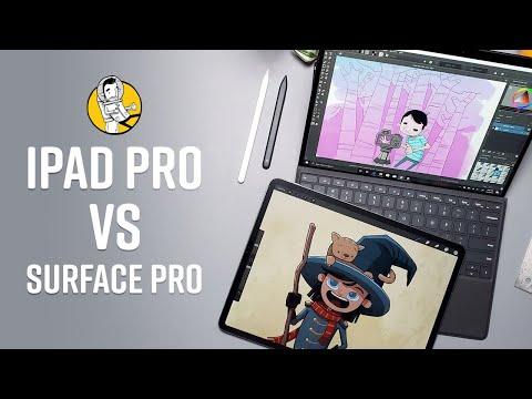 Surface Pro vs iPad Pro Smackdown!