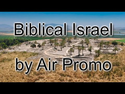 """""""Biblical Israel By Air"""" Drone Video Promo"""
