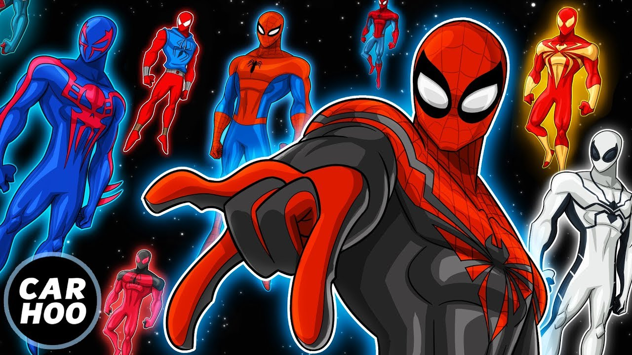 THE ULTIMATE SPIDER-MAN PARODY!!! Over 20 Spideys 【Into the Spider-Verse Parody】