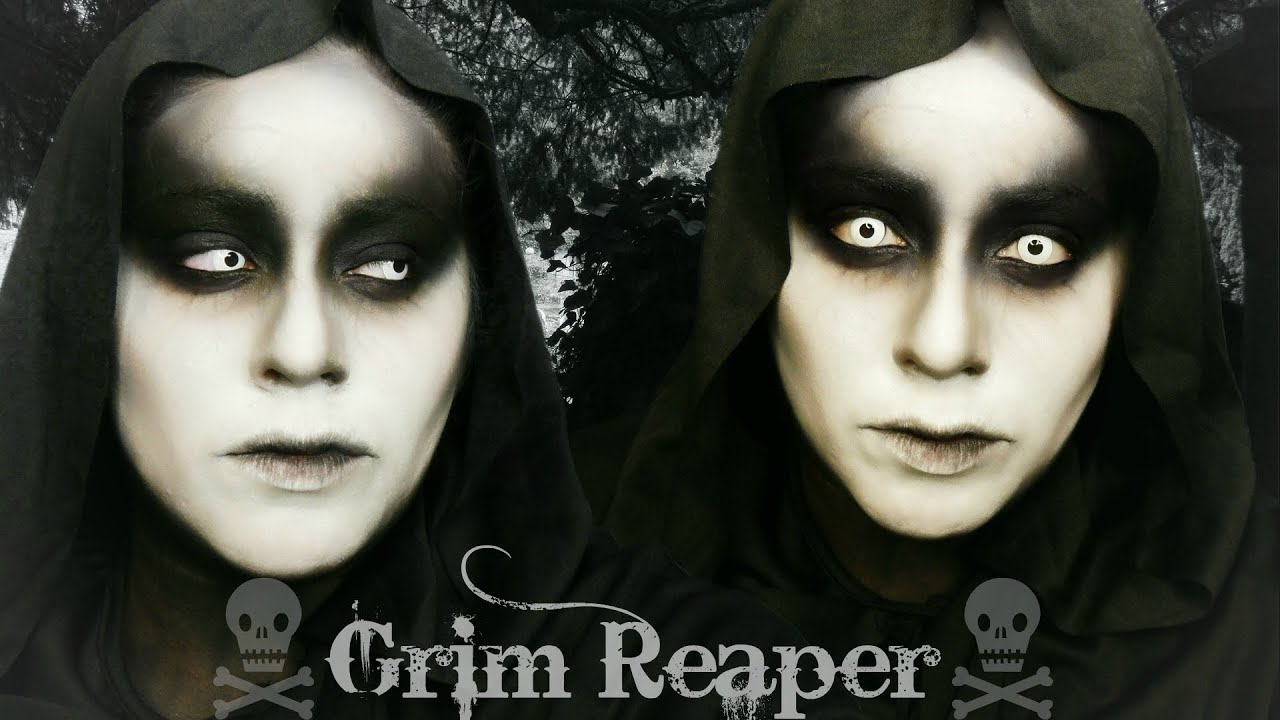 Grim Reaper | Halloween Makeup - YouTube