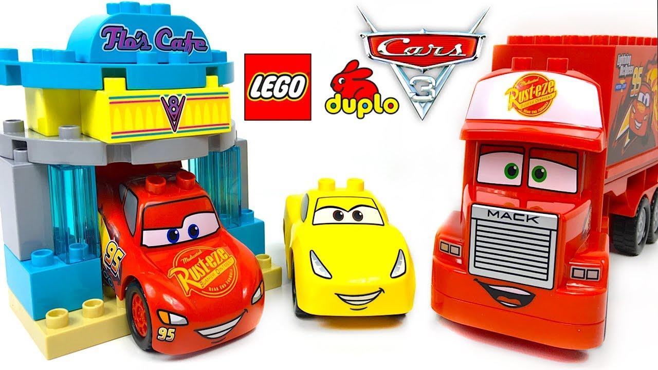 Lego Duplo Disney Cars 3 La Cafeteria De Flo Con Rayo Mcqueen Cruz