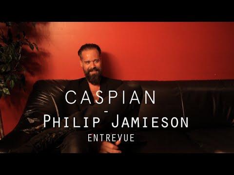 Caspian : interview Philip Jamieson 22/09/15 @ Petit Campus, Montréal