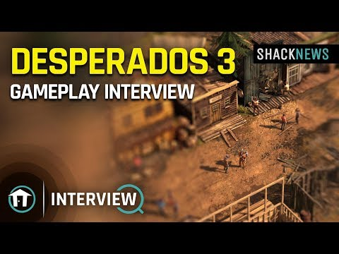 E3 2019 Desperados 3 Gameplay Interview Youtube