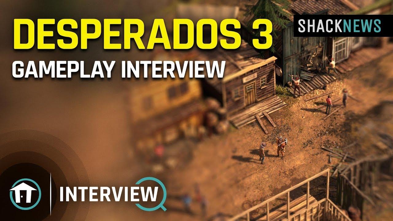 E3 2019 Desperados 3 Gameplay Interview Youtube