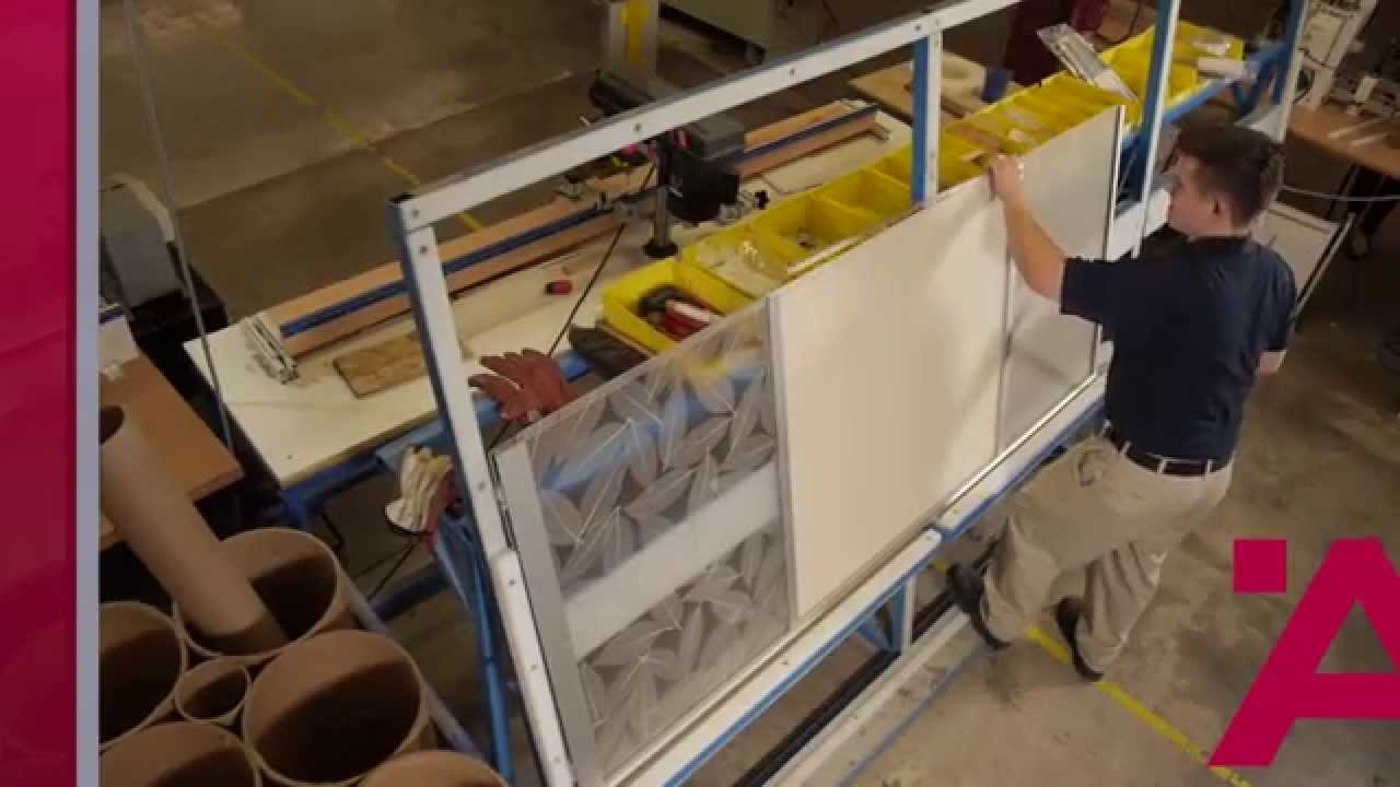 Aluflex Aluminum Frame Doors Construction Process Youtube