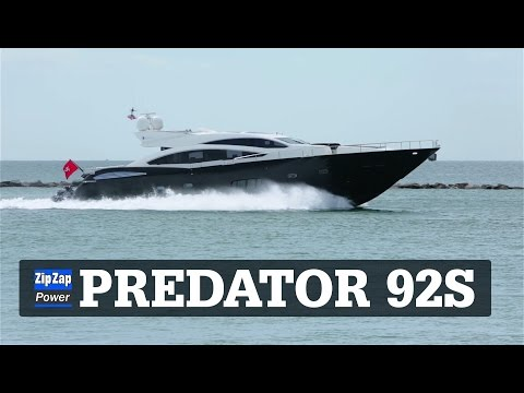 Sunseeker Predator 92 Sport | MR BLUESKY Running into Miami