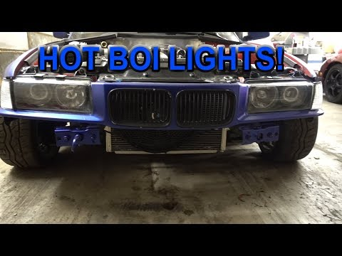 LS1 E36 GETS RICE LIGHTS AND WHEEL COLOR..?