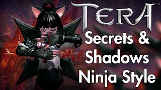 TERA - Ninja Gameplay - Shuriken Style [Sponsored]
