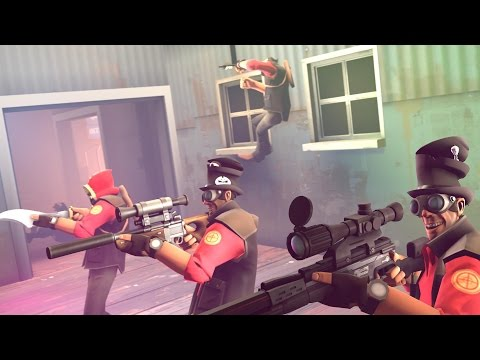 HACKER WARS! Huntsman Hacks On 2Fort
