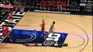 Josh Reaves Slams it Down vs. Illinois
