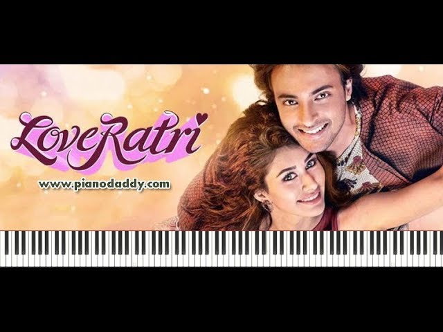 Chogada (Loveratri) Piano Tutorial ~ Piano Daddy