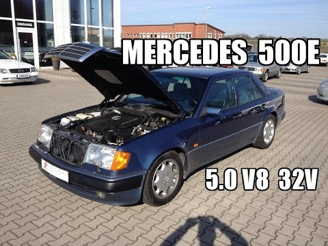 1992 Mercedes 500e W124 It Is So Smooth Review Testdrive