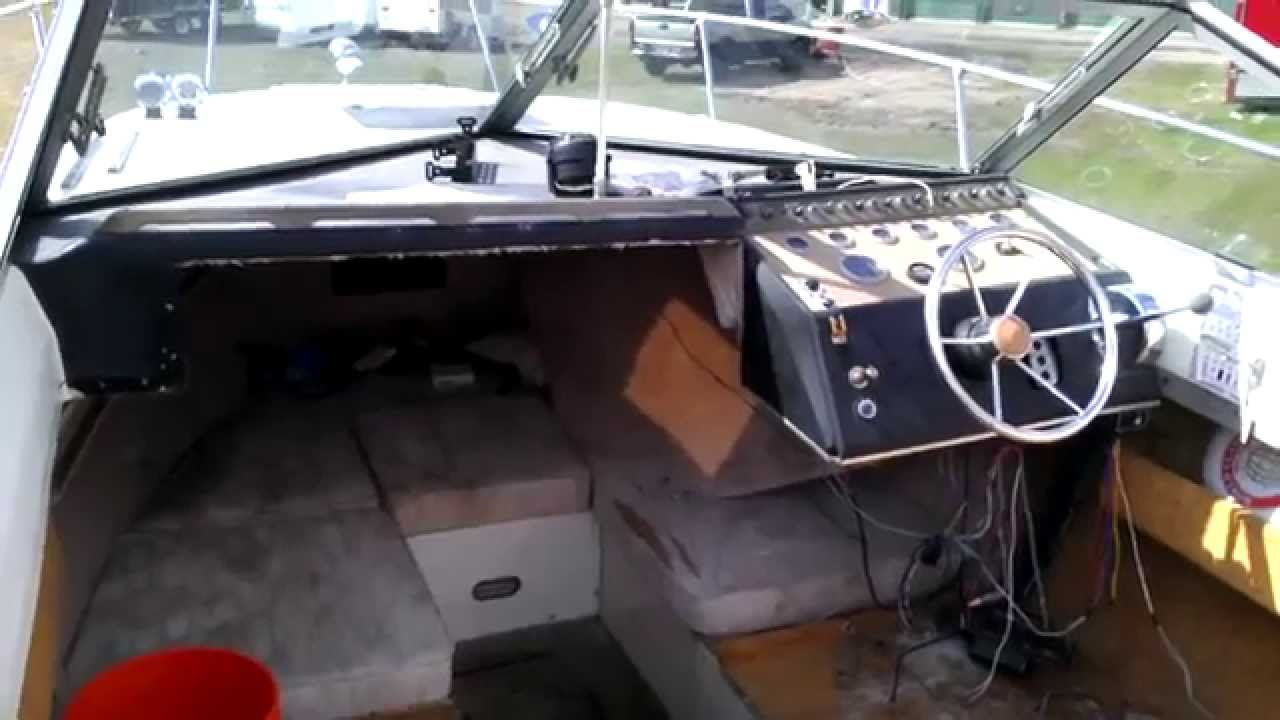 Boat restoration 1976 sea ray interior preview youtube for How to restore a boat interior