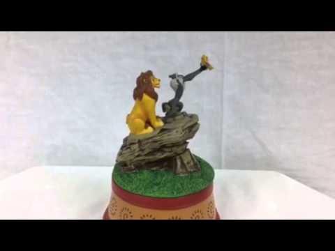 Enesco The Lion King Revolving Musical Figurine