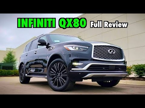 2019 Infiniti Qx80 Insights Interior Cargo Youtube