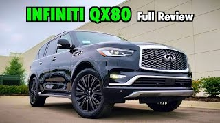 2019 Infiniti QX80 Limited: FULL REVIEW | Watch Out Escalade Platinum!