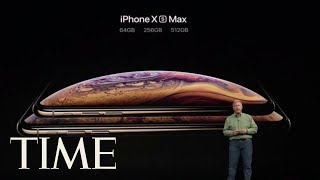 Apple Unveils iPhone XS, iPhone XS Max And Cheaper iPhone XR | TIME