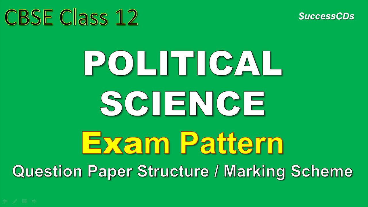 Cbse class 12 political science exam scheme and question paper marks cbse class 12 political science exam scheme and question paper marks distribution youtube malvernweather Image collections