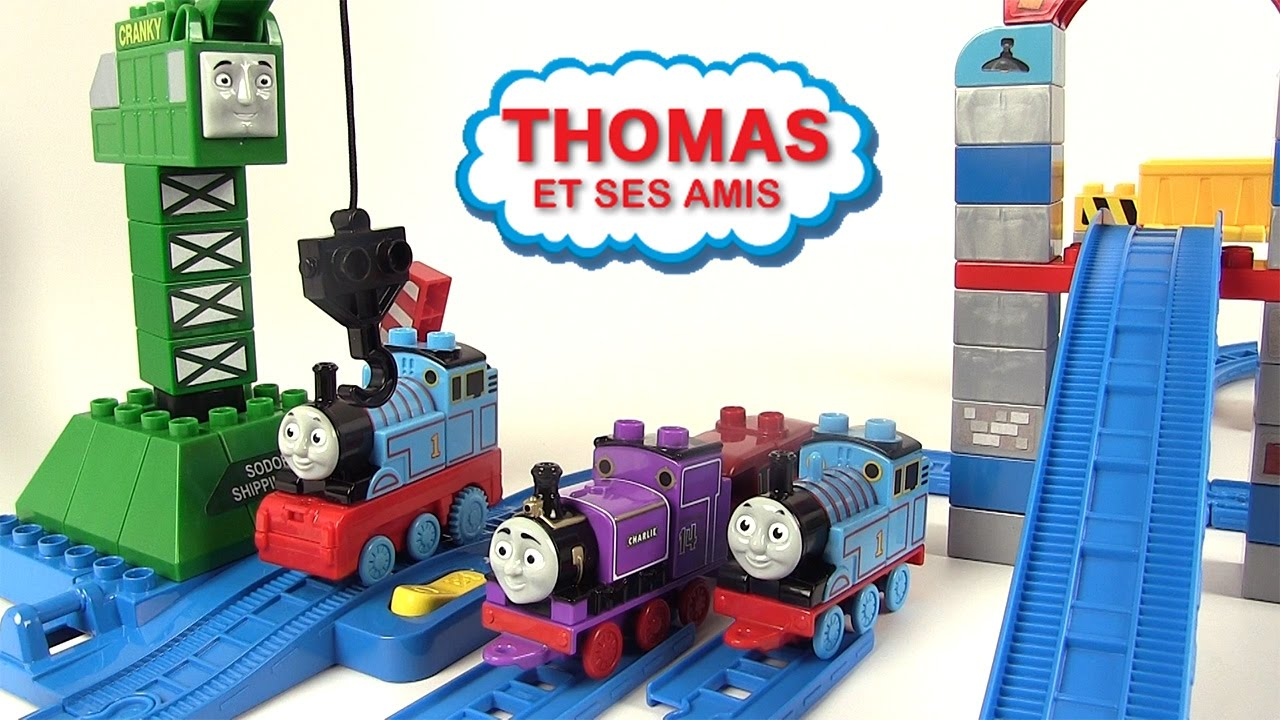 Thomas and friends circuit thomas et ses amis circuit de train jeu de construction youtube - Train thomas et ses amis ...