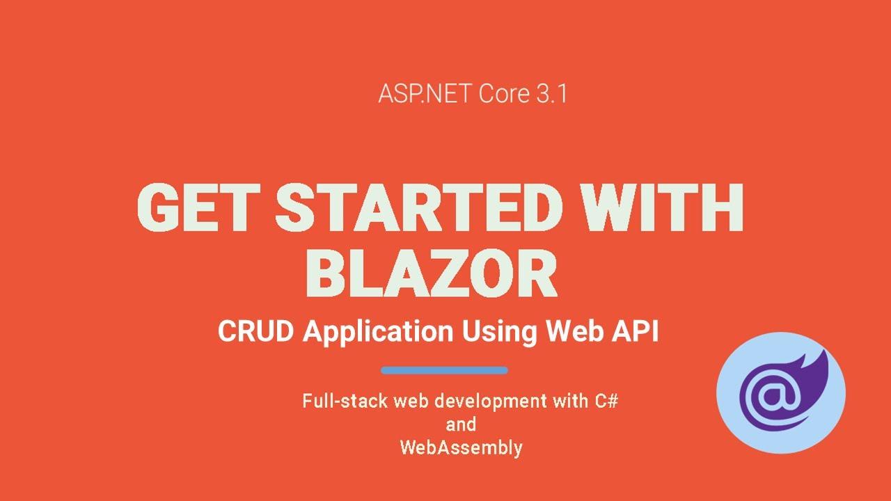 Call DELETE API ASP NET Core Blazor | Blazor CRUD using API Part-4