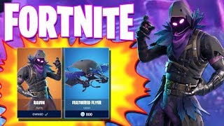 BACK TO BACK WINS WITH THE RAVEN SQUAD?(Fortnite Best Skin In the Game)