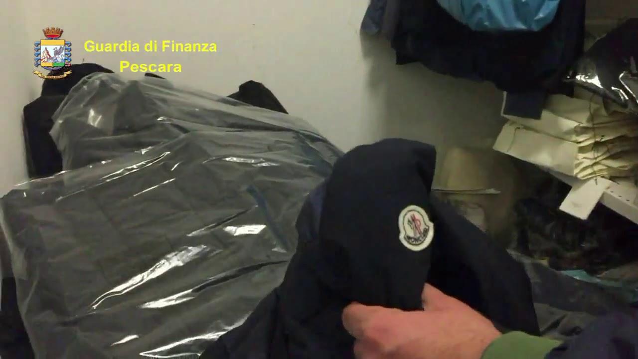 35fa3b267147 Contraffazione, maxisequestro da 2,5 milioni di euro e 106 persone  denunciate da guardia di finanza [VIDEO] - PescaraPost