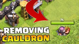 Clash Of Clans REMOVING CAULDRON! NEW CoC Halloween Update October 2015 FULL REVIEW + FEATURES!
