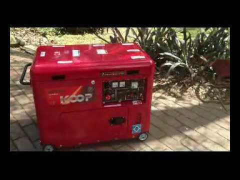 KOOP diesel generator australia