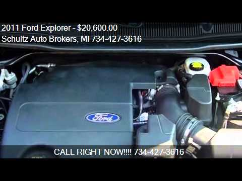 2011 Ford Explorer for sale in Livonia, MI 48150 at the Schu