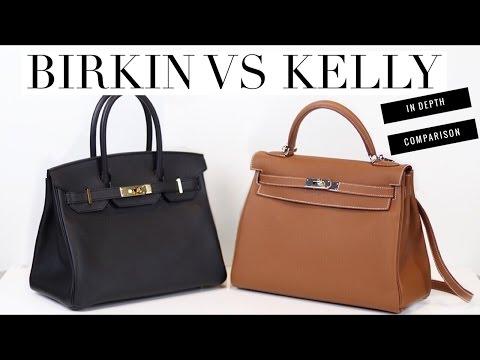 HERMES BIRKIN VS KELLY - In Depth Comparison | Mel in Melbourne